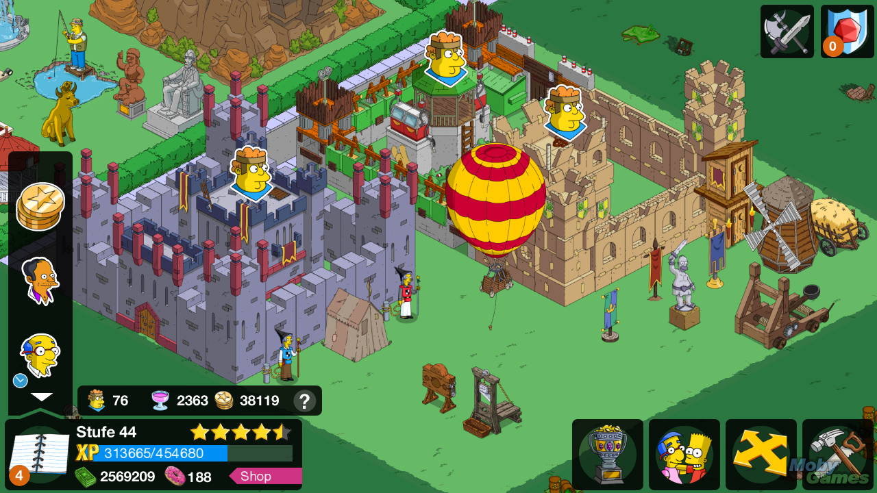 The simpsons tapped out v4. 14. 5 for android free download the.
